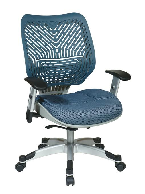 Blue Mist Space Grid Task Chair